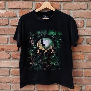 Vintage Skull pile t-shirt